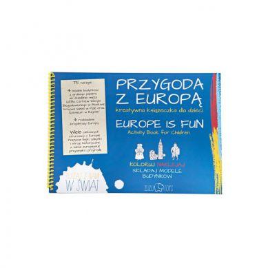 Zuzu Toys - Przygoda z Europą Książeczka Kreatywna