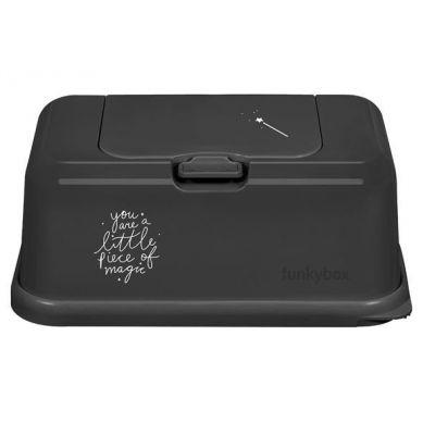 Funkybox - Pojemnik na Chusteczki Dark Grey Magic