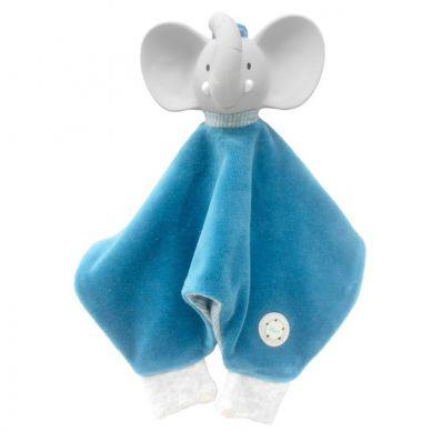 Meiya & Alvin - Miękka Przytulanka z Organicznym Gryzakiem Alvin Elephant