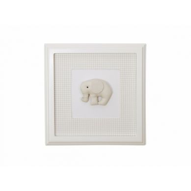Caramella - Obrazek Beżowy ze Słonikiem