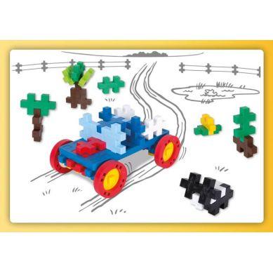Plus Plus - Puzzle Midi Basic Make & GO! - 46 szt. Auto