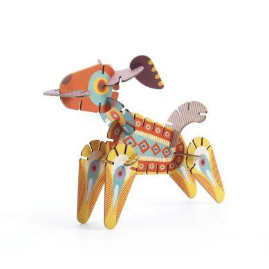 Djeco - Puzzle Volubo 3D Zwięrzątka