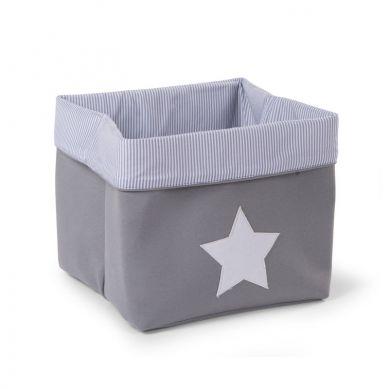 Childhome - Pudełko na Zabawki Płócienne 32x32x29 Szare