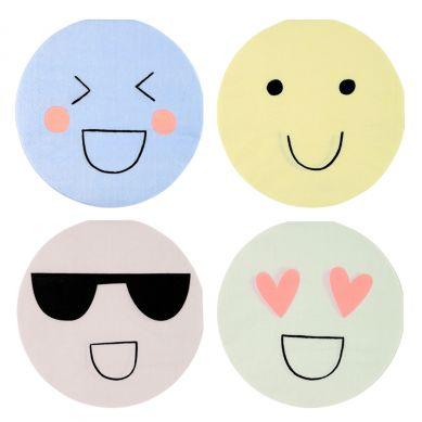 Meri Meri - Serwetki Urodzinowe Emoji