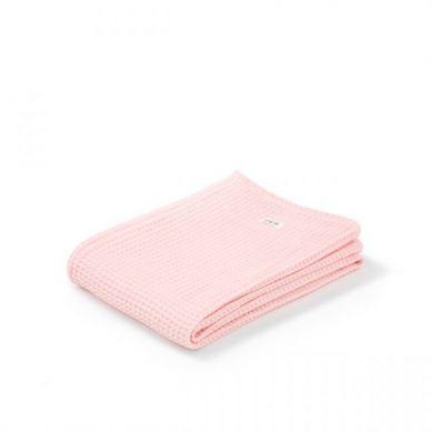 Maki Mon Ami - Kocyk Otulacz  Vanilla Pink Wafel 100x120cm