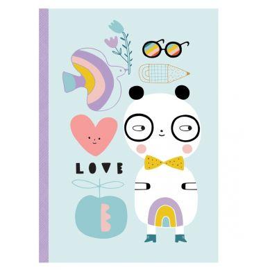 Petit Monkey - Notatnik Panda Love