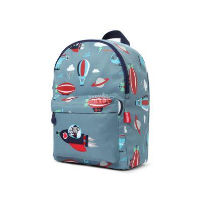 Penny Scallan - Duży Plecak Niebieski w Małpki