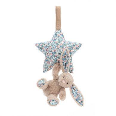 Jellycat - Pozytywka Gwiazdka z Króliczkiem Blossom Beige 0m+