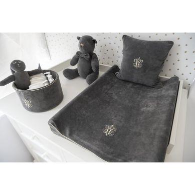 Caramella - Mała Poduszka Anthracite Gloss 35x35cm