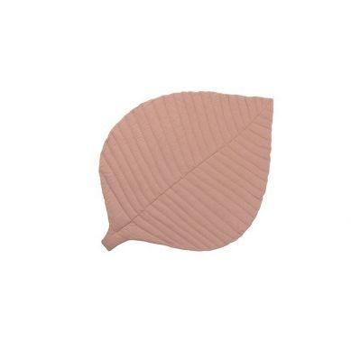 Toddlekind - Mata do Zabawy z Bawełny Organicznej w Kształcie Liścia Leaf Mat Sea Shell