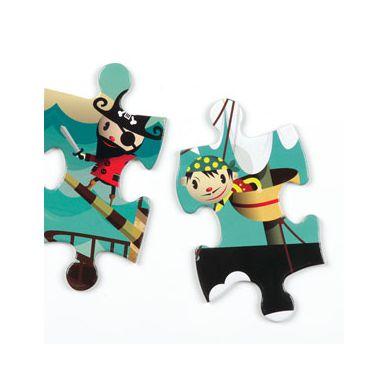 Mudpuppy Puzzle w Pudełku 42 Elementy Piraci