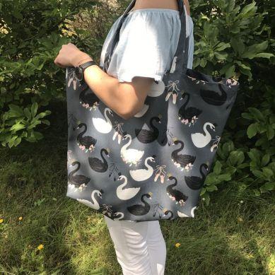 La Millou - Shopper Bag Black Swan