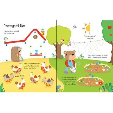 Wydawnictwo Usborne Publishing - Wipe-clean Farm Activities