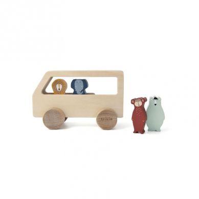 Trixie - Drewniany Autobus dla Zwierząt Animals