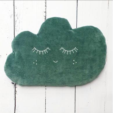 Pink no More - Poduszka Chmurka Green