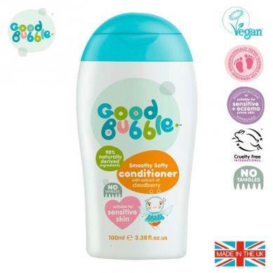 Good Bubble - Organiczna Odżywka Wegańska dla Noworodka i Niemowlaka Cloudberry 100 ml