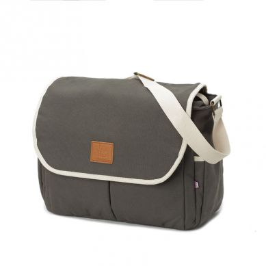 My Bag's - Torba do Wózka Flap Bag Happy Family Grey