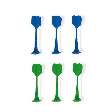 Janod - Zestaw rzutek Magnetycznych 6 sztuk (Zielone i Niebieskie)