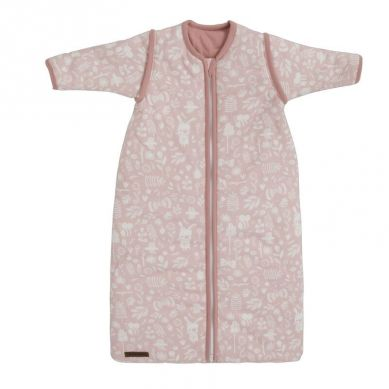 Little Dutch - Śpiworek z Odpinanymi Rękawkami 90 cm Adventure Pink