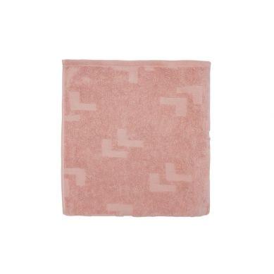 Lullalove - Ręcznik 70x140cm Zgaszony Róż