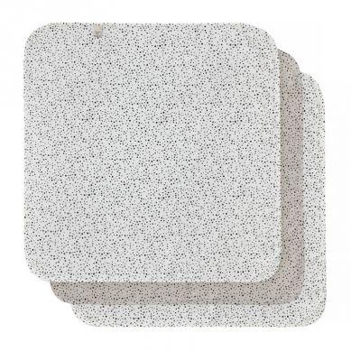 Bebe-Jou - Chusteczki Bambusowo-muślinowe 32 x 32 cm 3 szt Fabulous Dots