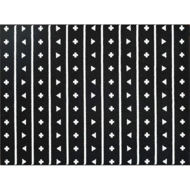 Lorena Canals - Dywan Akrylowy Pattern Black 140x200