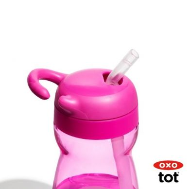 OXO - Bidon dla Dziecka Adventure Pink 9m+