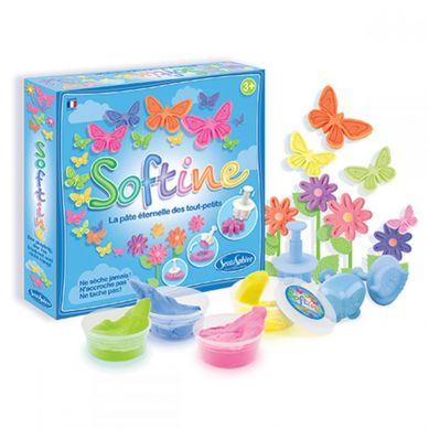 SentoSphere - Kwiaty i Motyle do robienia z masy plastycznej jedwabistej Softine