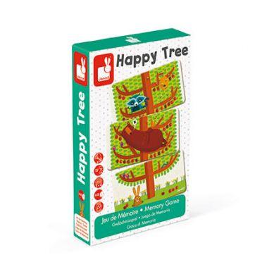 Janod - Gra Pamięciowa Szczęśliwe Drzewo