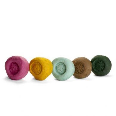 Ailefo - Organiczna Ciastolina Duża Tuba 5 Kolorów po 160g