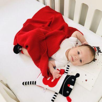 Lullalove - Papcie Sensoryczne MRB 0-3m