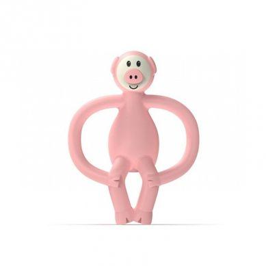 Matchstick Monkey - Gryzak Masujący ze Szczoteczką Animals Piggy