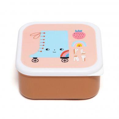 Petit Monkey - Zestaw Lunchboxów Skate Boot 3 szt