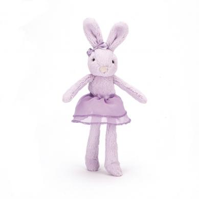 Jellycat - Przytulanka Króliczek Baletnica Lilac