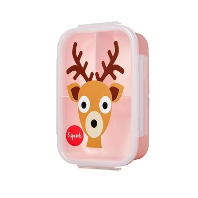 3 Sprouts - Lunchbox Bento Jeleń Pink