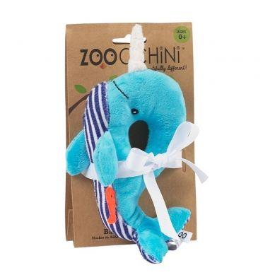 Zoocchini - Grzechotka Niebieski Wieloryb