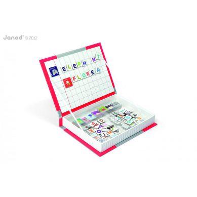 Janod - Magnetyczne Pudełko Alfabet