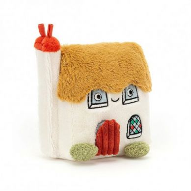 Jellycat - Bonny Cottage Activity Toy -Domek ślimaka 20x19cm