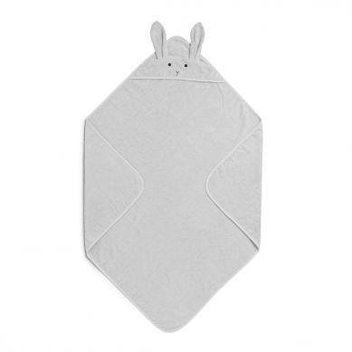 Liewood - Ręcznik z Kapturem Rabbit Dumbo Grey 100cm x 100cm