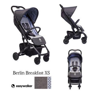 Easywalker - Buggy XS Wózek Spacerowy z Osłonką Przeciwdeszczową Berlin Breakfast