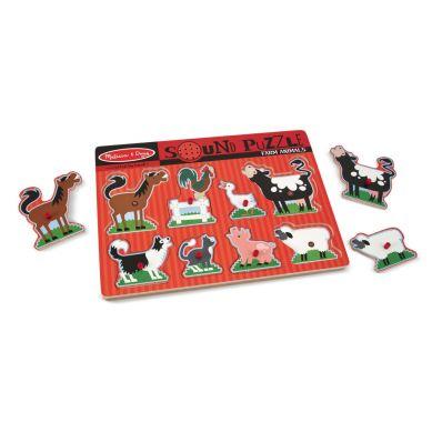 IMelissa & Doug - Puzzle z Dźwiękiem Farm