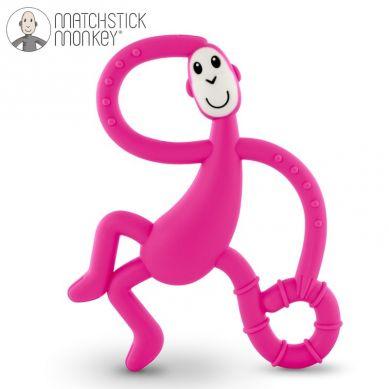 Matchstick Monkey - Gryzak Masujący ze Szczoteczką Pink