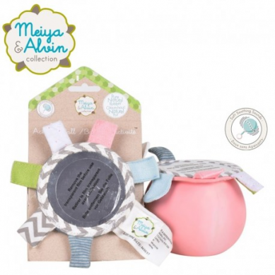 Meiya  Alvin - Meiya Mouse Active Ball with Mirror and Rattle