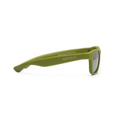 Koolsun - Okularki dla Dzieci Wave Army Green 1-5 lat