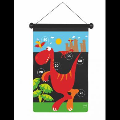 Scratch - Duże Magnetyczne Rzutki Dinozaur