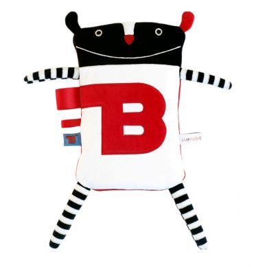 Lullalove - SuperZabawka Termofor MR B