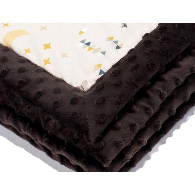 La Millou - Kocyk Niemowlaka 65x75 cm Buffalo Chocolate