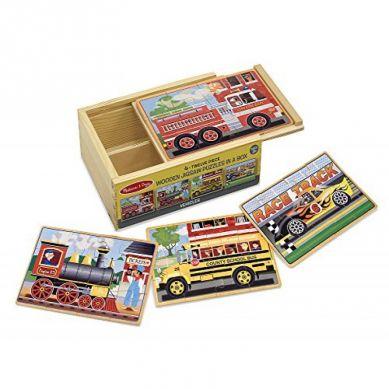 Melissa & Doug - Puzzle codzienne pojazdy