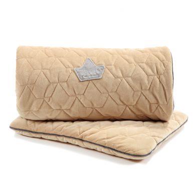 La Millou - Komplet Pościeli Velvet Collection Blanket & Mid Pillow Vanilla