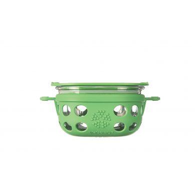 Lifefactory - Pojemnik na żywność 240ml Grass Green
